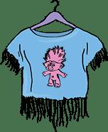 Narmastega t-särk